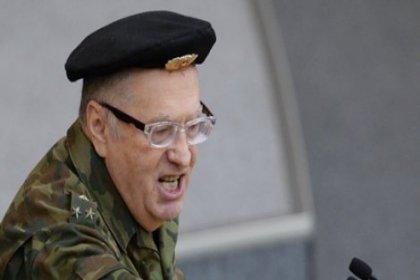Jirinovski: O kadın gazeteciyi taciz edin