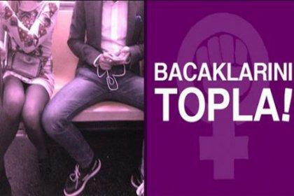 Sosyal medyada 'bacaklarını topla' kampanyası!