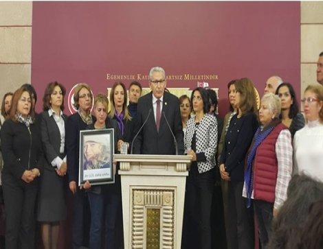 CHP'li Arslan: Kadına yönelen şiddete karşı CHP görevde