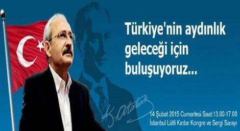 'Türkiye'nin Aydınlık Geleceği İçin Buluşuyoruz'