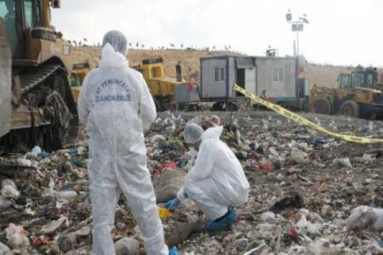 Bir kadına ait ceset parçaları bulundu