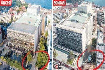 Hakan Kıran AKM'ye ait alanı işgal mi etti?