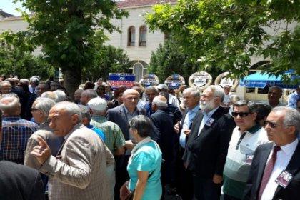 İmambakır Üküş, Cüneyt Arcayürek'in cenazesine katıldı