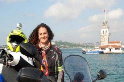 ''Kadına Şiddet''e dikkat çekmek için motosikletle 10 ülke gezecek