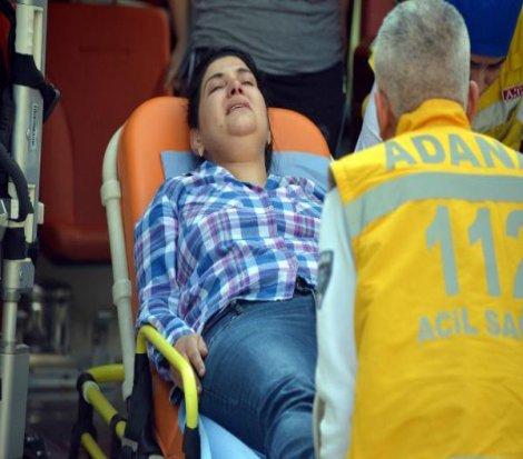 Adana'da bir garip gasp!