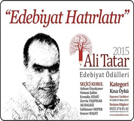 Ali Tatar anısına: 'Kahramanlar Öykülerle Yaşar'