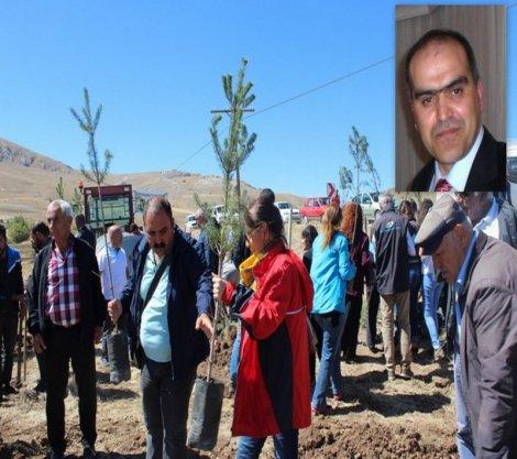 Ali Tatar'ın adı 'On İki Fidandan Bir Ulu Ormana' projesiyle yaşayacak