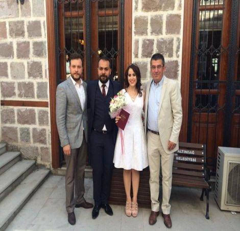 Gökhan Günaydın, Umut Uçun'un nikah şahitliğini yaptı