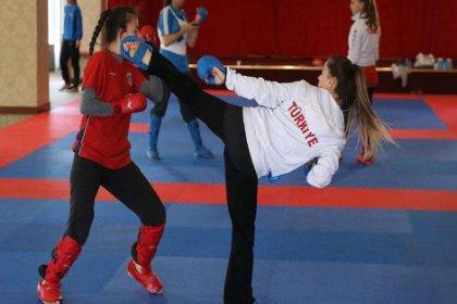 Kadınlar Karate Milli Takımı altın madalyaya kilitlendi