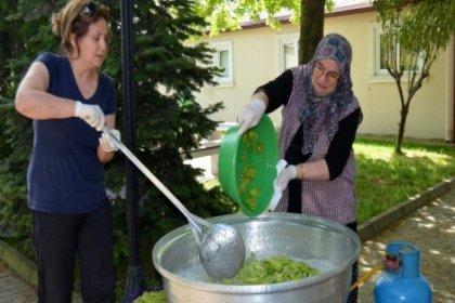 Kadınlardan yeni lezzet: Kivi reçeli