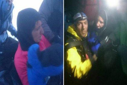 Kayıp kadın dağcı bulundu