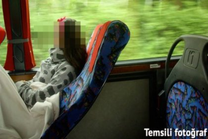 Muavinin yaptıklarına otobüstekiler inanmamış