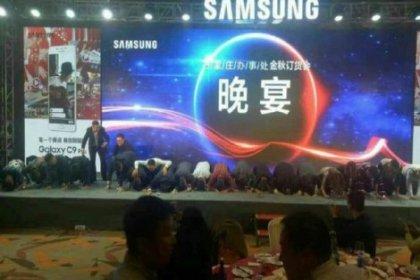 Samsung'un Çinli yöneticileri özür diledi