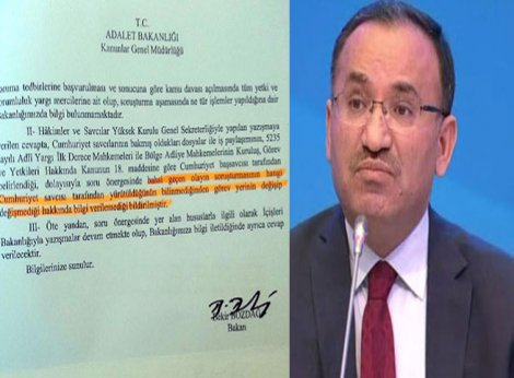 Adalet Bakanlığı'ndan HDP'li Beştaş'a Tahir Elçi yanıtı