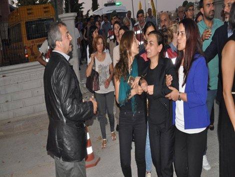 Ankara Valiliği Aysel Tuğluk'un annesinin cenazesine saldırıya 'sataşma' dedi!