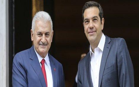 Başbakan Yıldırım ve Çipras ortak basın toplantısı düzenledi