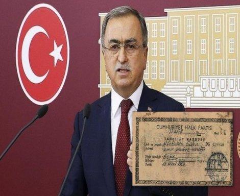 CHPli Erdoğdu: AK Partinin açıkladığı makbuz sahte