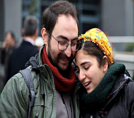 Esra Özakça: Toprağın altına girse bile eşimin yanında olmaya devam edeceğim