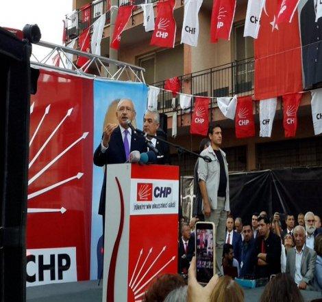 Kılıçdaroğlu, Denizli'de CHP il binasının açılışını yaptı