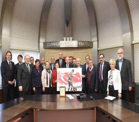 Kılıçdaroğlu; Kastamonu Toplumsal Dayanışma Platformu temsilcilerini kabul etti