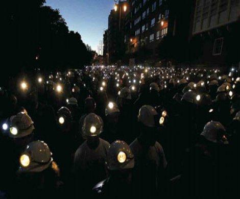 Maden işçilerinin eylemi ses verdi