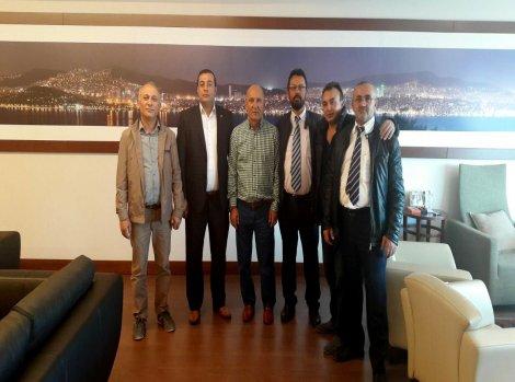Nevşehir Karasenir Derneği'nden, Başkan Altınok Öz'e ziyaret