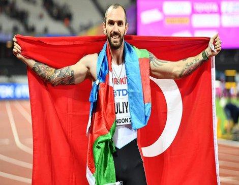 Ramil Guliyev dünya şampiyonu