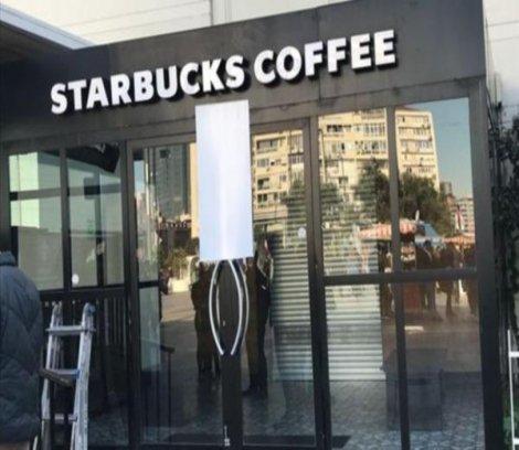 Starbucks mühürlendi
