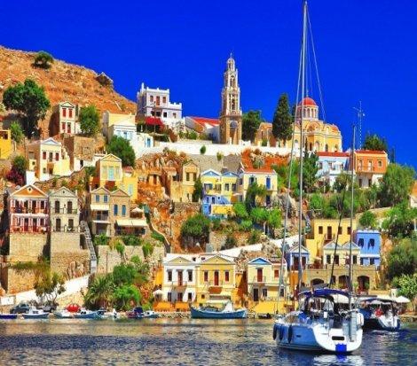 Türk turistlerin gözdesi Simi Adası