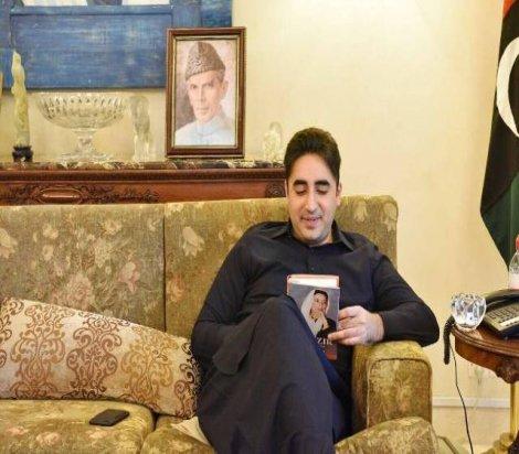 Yaşar Seyman'ın kitabı Benazir, Benazir Butto'nun oğluna verildi