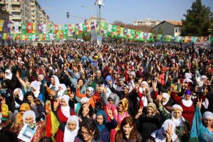 8 Mart Diyarbakır'da coşkuyla kutlandı