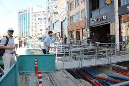 AKP İstanbul'un kalbi İstiklal caddesini kırdı-döktü!