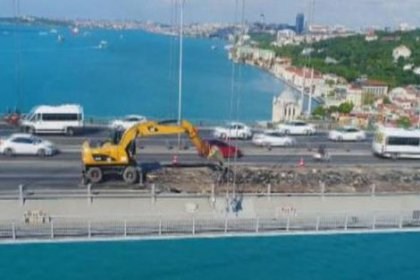 Bakan açıkladı: Köprüdeki çalışma 25 Ağustos'ta bitecek