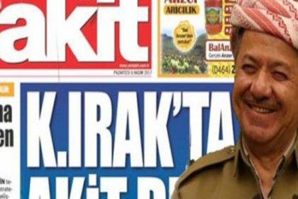 Barzani istifa etti, Akit üstüne alındı: 'Haberlerimiz sonunu hazırladı'