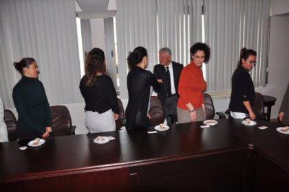 Başkan Acar, kadın çalışanları kabul etti