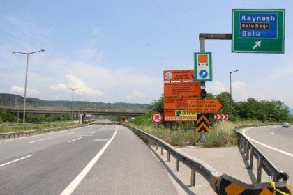 Bolu Dağı Tüneli'nin Ankara istikameti 10 gün ulaşıma kapanıyor