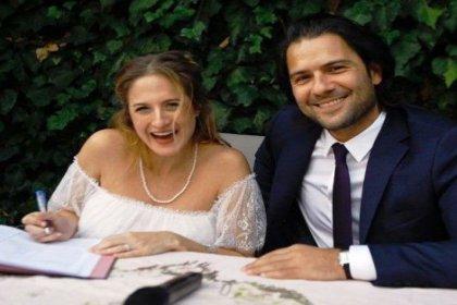 Canan Ergüder ve Kenan Ece evlendi