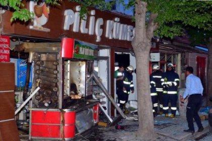 Eskişehir'de korkutan patlama