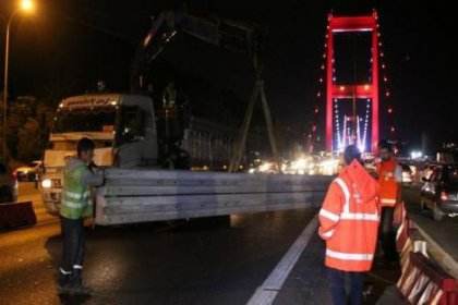 FSM Köprüsü'nde çalışmalar başladı