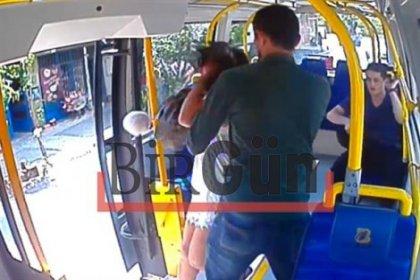 Genç kadının şort giydi diye saldırıya uğradığı anın görüntüleri ortaya çıktı