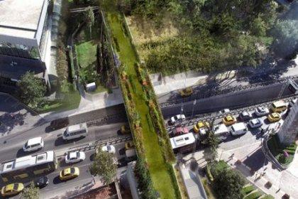 Gezi Parkı'na ekolojik yaya köprüsü