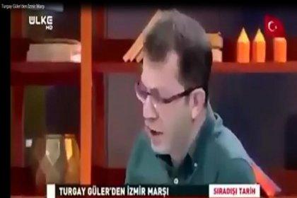 İnanılmaz şeyler oluyor: Yandaş yazar 'Ben daha iyi okurum' dedi, İzmir Marşı söyledi