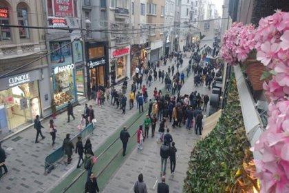 İsitklal Caddesi'ne 'yeşil' zemin