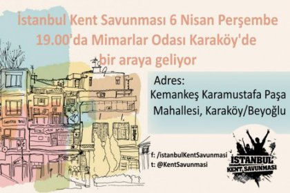 İstanbul Kent Savunması, Karaköy'de bir araya geliyor