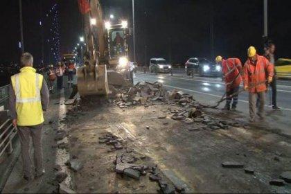 İstanbul'da 2.5 ay sürecek köprü çalışması başladı
