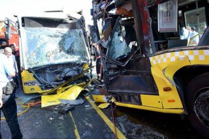 İstanbul'da metrobüs kazası: 32 yaralı