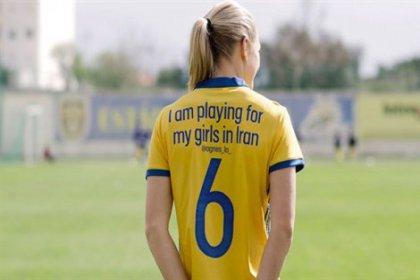 İsveç Kadın Futbol Takımı'ndan anlamlı destek