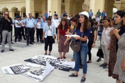 Kadınlar, Büyükçekmece Belediyesini protesto etti