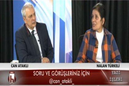 Nalan Türkeli, Can Ataklı'ya konuk oldu