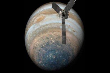 NASA Jüpiter'in yeni görüntülerini yayımladı